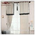 Essex elrene ojal de tratamiento de la ventana de colección, blanco cortinas para bodas, de lino blanco de lino cortinas