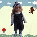 muñecas de la manera de la muchacha
