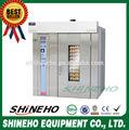 Forno de padaria preços/elétrica de aquecimento de ar quente forno rotativo
