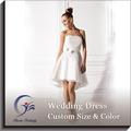 Vestidos de novia de Satén y Tul chicas falda corta
