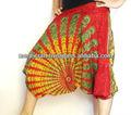 Baggy harem genio Aladin pantalones de Alibaba y los pantalones, pantalones hippie Boho impresos pantalones de yoga de la India