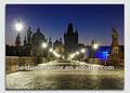 la ciudad y el río vltava en praga fotos divertidas con marcos de color negro, peinture, antiguas pinturas religiosas