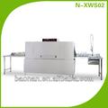 en acier inoxydable double tunnel de pulvérisation machines lave vaisselle