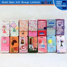 Carcasa Cuero Para iPhone 4G Tipo Libro Funda, Leather Wallet Cubierta Del Soporte Funda Para iPhone 4G