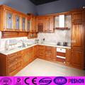popular de china antigua de madera sólida del gabinete de la cocina