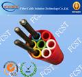 Polietileno de alta densidad del tubo de cable bundle7*8/6mm, de silicio- núcleo del conducto con canal de derivación