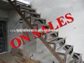 Caliente las ventas baja precio de acero ms barandilla de la escalera jhx-ss2030y