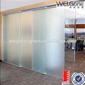 Como/nzs2208 temperado portas interiores vidro fosco