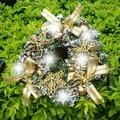 13 decoración de Navidad,luz de la Navidad,corona