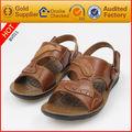 los hombres de cuero de moda de playa sandalia zapato