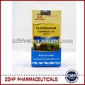 Florfenicol injeção de produtos veterinários para cavalos/drogas antibacteriana