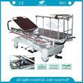 AG-HS005 Con al-aleación camilla pasamanos Carro hospitalario del paciente