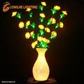 Led 50 0.8m alta interior decorativa led amarelo vaso de flor de luz/rosa vaso iluminado