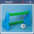 pvc inflable de fútbol objetivo post