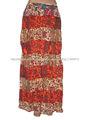 algodón gitano indio falda vestido de falda larga