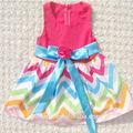 nuevo diseño de bebé vestido de niña patrones vestido de verano para niñas