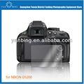 Más calientes de venta bava pantalla de la cubierta para nikon d5200 0.5mm digital lcd de la cámara protecter pantalla de