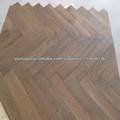 Parquet nogueira americana piso de madeira maciça