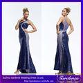sirena de un hombro azul real elie saab por la noche vestido de noche las damas vestidos occidental