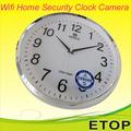 P2P WiFi despertador camara oculta camara oculta CCTV grabacion del ciclo de reloj