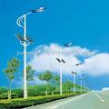 la energía solar luces de la calle