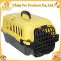 confiable de plástico y caja de transporte del perro portador de lucha al por mayor