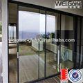 hecho en fábrica de alta calidad utilizados puertas corredizas de vidrio la venta
