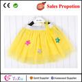 el patrón de estrella de cinco puntas de tul bebé niñas falda tutu ropa baratos para la promoción de ventas