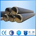 térmica de gran diámetro de metro de aislamiento del tubo para la central de calefacción y refrigeración