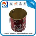 precio de fábrica de lujo pritning lata decorativa cubo