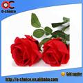 Único Artificial Rose Flor com Grande Atacado Pétala