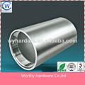 Oem de mecanizado de precisión de piezas utilizadas para el tubo de papel de la máquina, cnc servicio de fabricación
