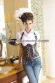mayor steampunk lenceria corset