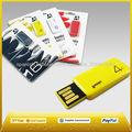 usb pen drive para el regalo de la promoción con su logotipo
