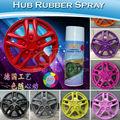 Coche de pulverización de pintura de color/de caucho pintura en aerosol para la rueda del coche
