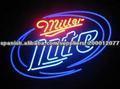 Classic Miller Lite Neon cerveza Ingresar