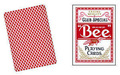 Bee Deck - Poker Size - Playing Cards - Magic Tricks - Red - New