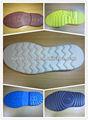 2015 la espuma de eva suela de caucho para la fabricación de zapatos en dongguan fabricante