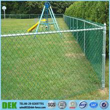 cerraduras de malla diamante cadena de enlace valla galvanizado utilizado