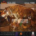 Exhibición de los animales para Playground tigre animatronic