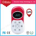 Ibaby gps gsm seguimiento sos niños celulares de emergencia del teléfono móvil