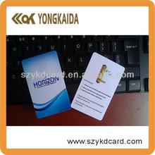 la norma iso t5577 plactic de pvc con la tarjeta rfid 125 khz módulo