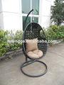 Silla de rattan Outdoor swing 20014 caliente de la venta