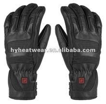 guantes de cuero de la PU,guantes de la moto,guantes de calefacción eléctrica