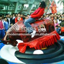 china mecánica rodeo toro de atracciones equipo de juego