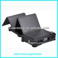 el peso de la luz solar integrado generador de casa
