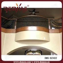 barandilla de hierro de diseño de interior