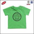 de algodón de bebé niño ropa medusa diseño verde t camisa