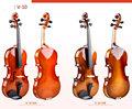 V-10 1/2 1/4 3/4 4/4 tamaño de cuerda de violín instrumentos de música