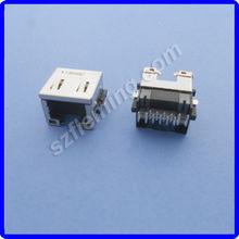 rj45 red tipos de conectores lan usb conector